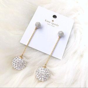 Kate Spade Razzle Dazzle Linear Drop Earrings